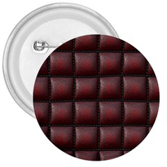 Red Cell Leather Retro Car Seat Textures 3  Buttons by Nexatart