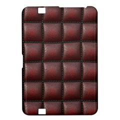 Red Cell Leather Retro Car Seat Textures Kindle Fire Hd 8 9  by Nexatart