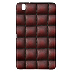 Red Cell Leather Retro Car Seat Textures Samsung Galaxy Tab Pro 8 4 Hardshell Case by Nexatart