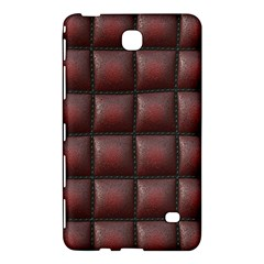 Red Cell Leather Retro Car Seat Textures Samsung Galaxy Tab 4 (8 ) Hardshell Case  by Nexatart