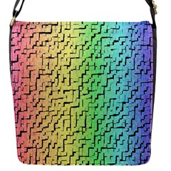 A Creative Colorful Background Flap Messenger Bag (s) by Nexatart