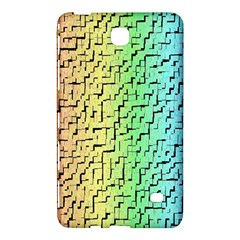 A Creative Colorful Background Samsung Galaxy Tab 4 (8 ) Hardshell Case  by Nexatart