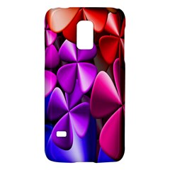 Colorful Flower Floral Rainbow Galaxy S5 Mini by Mariart