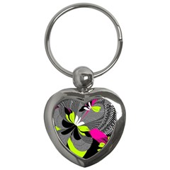 Abstract Illustration Nameless Fantasy Key Chains (heart)  by Nexatart