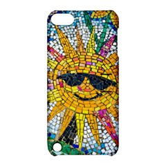 Sun From Mosaic Background Apple Ipod Touch 5 Hardshell Case With Stand by Nexatart
