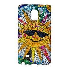 Sun From Mosaic Background Galaxy Note Edge by Nexatart