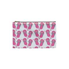 Flip Flops Flower Star Sakura Pink Cosmetic Bag (small)  by Mariart