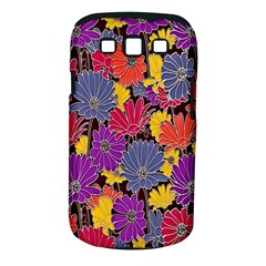 Colorful Floral Pattern Background Samsung Galaxy S Iii Classic Hardshell Case (pc+silicone) by Nexatart