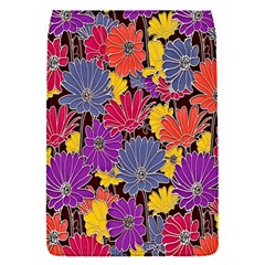Colorful Floral Pattern Background Flap Covers (s)  by Nexatart