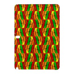 Colorful Wooden Background Pattern Samsung Galaxy Tab Pro 12.2 Hardshell Case by Nexatart
