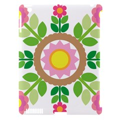 Flower Floral Sunflower Sakura Star Leaf Apple Ipad 3/4 Hardshell Case (compatible With Smart Cover) by Mariart