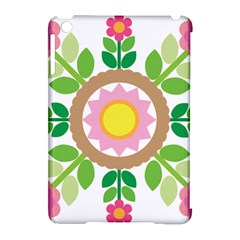 Flower Floral Sunflower Sakura Star Leaf Apple Ipad Mini Hardshell Case (compatible With Smart Cover) by Mariart