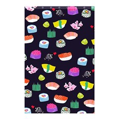 Japanese Food Sushi Fish Shower Curtain 48  X 72  (small)  by Mariart