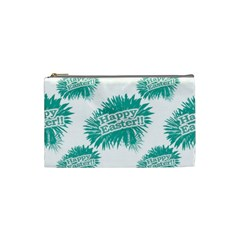 Happy Easter Theme Graphic Cosmetic Bag (small)  by dflcprints