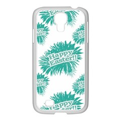 Happy Easter Theme Graphic Samsung Galaxy S4 I9500/ I9505 Case (white) by dflcprints