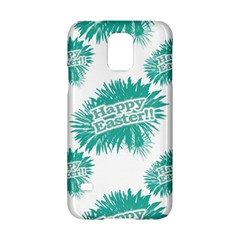 Happy Easter Theme Graphic Samsung Galaxy S5 Hardshell Case  by dflcprints