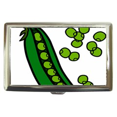 Peas Green Peanute Circle Cigarette Money Cases by Mariart