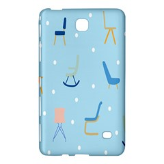 Seat Blue Polka Dot Samsung Galaxy Tab 4 (8 ) Hardshell Case  by Mariart