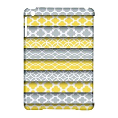 Paper Yellow Grey Digital Apple Ipad Mini Hardshell Case (compatible With Smart Cover) by Mariart