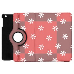Seed Life Seamless Remix Flower Floral Red White Apple Ipad Mini Flip 360 Case by Mariart