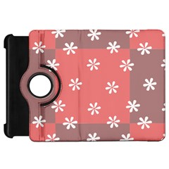 Seed Life Seamless Remix Flower Floral Red White Kindle Fire Hd 7  by Mariart