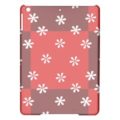Seed Life Seamless Remix Flower Floral Red White Ipad Air Hardshell Cases by Mariart
