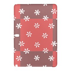 Seed Life Seamless Remix Flower Floral Red White Samsung Galaxy Tab Pro 12 2 Hardshell Case by Mariart