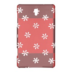 Seed Life Seamless Remix Flower Floral Red White Samsung Galaxy Tab S (8 4 ) Hardshell Case  by Mariart