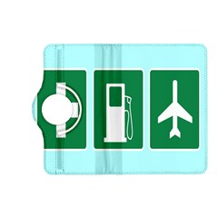 Traffic Signs Hospitals, Airplanes, Petrol Stations Kindle Fire Hd (2013) Flip 360 Case by Mariart