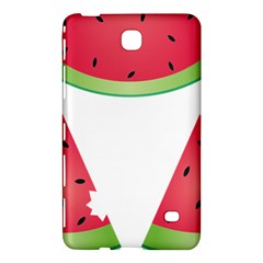 Watermelon Slice Red Green Fruite Samsung Galaxy Tab 4 (8 ) Hardshell Case  by Mariart