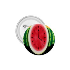Watermelon Slice Red Orange Green Black Fruite Time 1 75  Buttons by Mariart