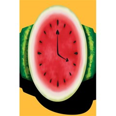 Watermelon Slice Red Orange Green Black Fruite Time 5 5  X 8 5  Notebooks by Mariart