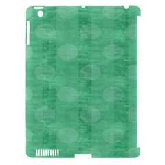 Polka Dot Scrapbook Paper Digital Green Apple Ipad 3/4 Hardshell Case (compatible With Smart Cover) by Mariart