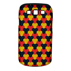 Red Blue Yellow Shapes Pattern       			samsung Galaxy S Iii Classic Hardshell Case (pc+silicone) by LalyLauraFLM