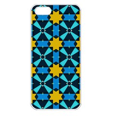 Stars Pattern      apple Iphone 5 Seamless Case (white) by LalyLauraFLM