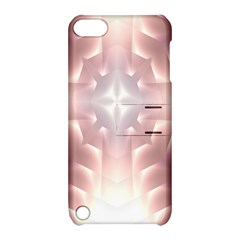 Neonite Abstract Pattern Neon Glow Background Apple Ipod Touch 5 Hardshell Case With Stand by Nexatart