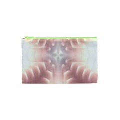 Neonite Abstract Pattern Neon Glow Background Cosmetic Bag (xs) by Nexatart
