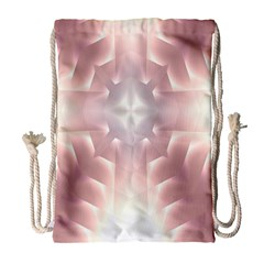 Neonite Abstract Pattern Neon Glow Background Drawstring Bag (large) by Nexatart