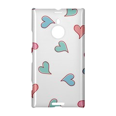 Colorful Random Hearts Nokia Lumia 1520 by Nexatart