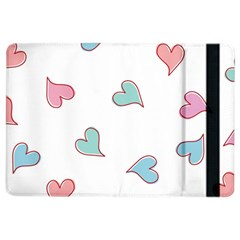 Colorful Random Hearts Ipad Air 2 Flip by Nexatart