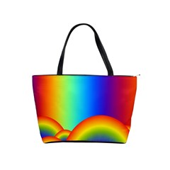 Background Rainbow Shoulder Handbags by Nexatart