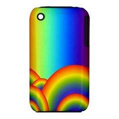 Background Rainbow iPhone 3S/3GS by Nexatart