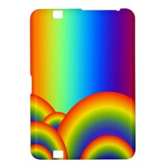 Background Rainbow Kindle Fire Hd 8 9  by Nexatart