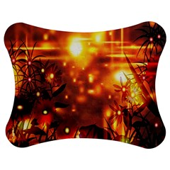 Summer Evening Jigsaw Puzzle Photo Stand (bow) by Nexatart
