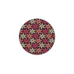 Floral Seamless Pattern Vector Golf Ball Marker