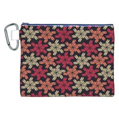 Floral Seamless Pattern Vector Canvas Cosmetic Bag (xxl) by Nexatart