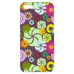 Floral Seamless Pattern Vector Apple Iphone 5 Hardshell Case by Nexatart