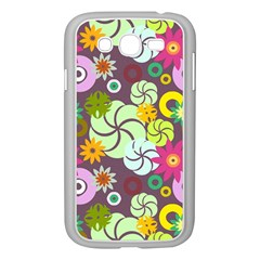 Floral Seamless Pattern Vector Samsung Galaxy Grand Duos I9082 Case (white) by Nexatart