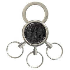 Old Black Background 3 Ring Key Chains by Nexatart