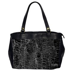 Old Black Background Office Handbags (2 Sides)  by Nexatart